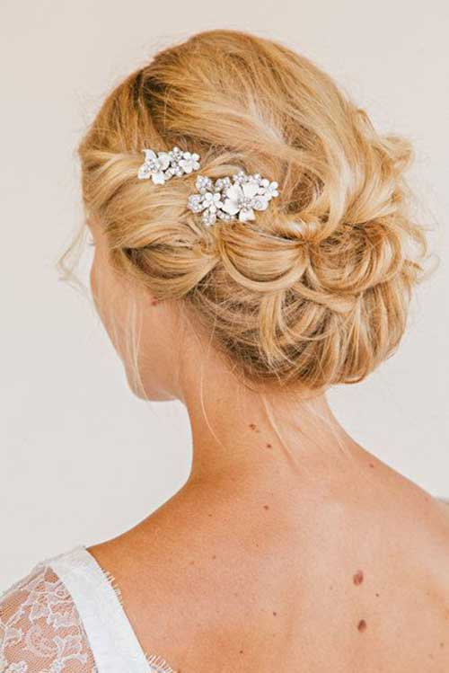 Best Wedding Updo with Hair Comb 2015-2016