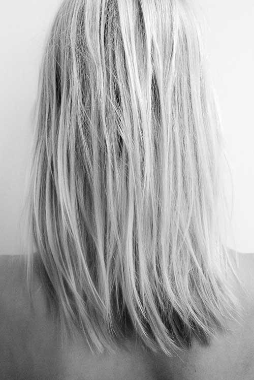 White Gray Hair Trend 2016