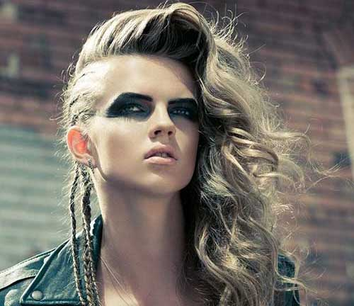 20+ Punk Long Hairstyles