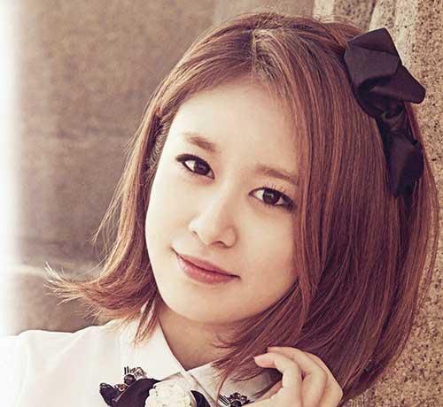 15+ Latest Korean Hairstyle 2014