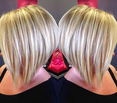 Short Blonde Hair 2017 - 10