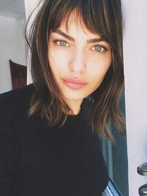 Hairstyles with Bangs 2015-10