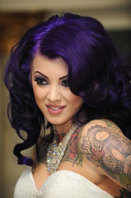 Punk Hairstyles for Curly Hair-10
