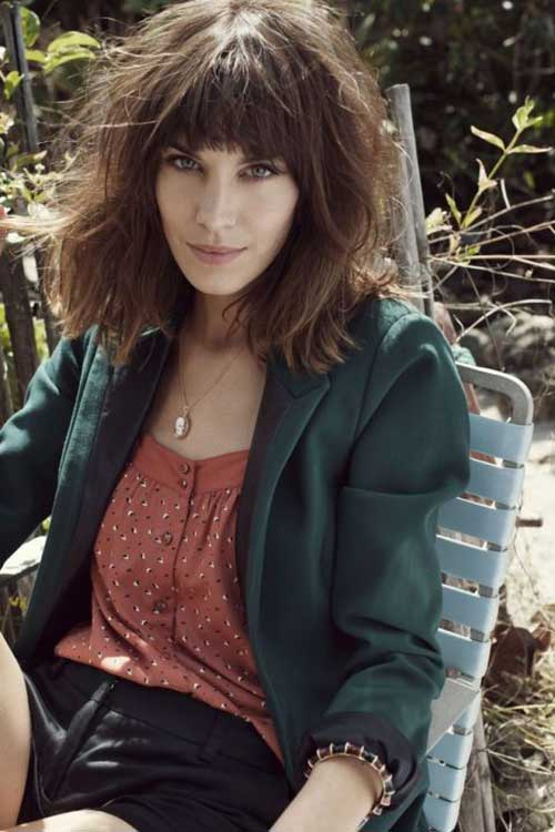 Hairstyles with Bangs 2015-11
