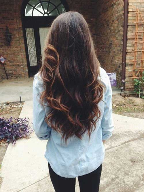 Long Dark Brown Hairstyles-11