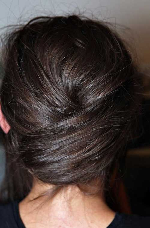 French Bun Hair-12