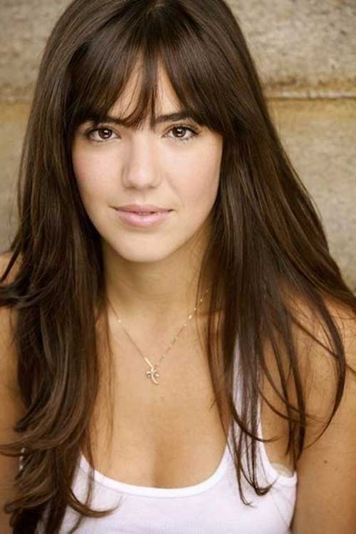 Hairstyles with Bangs 2015-12