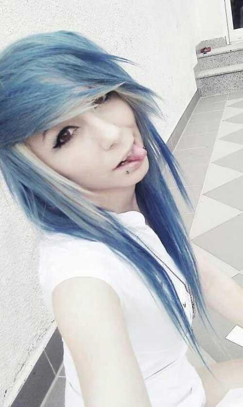 Emo Long Hair-13