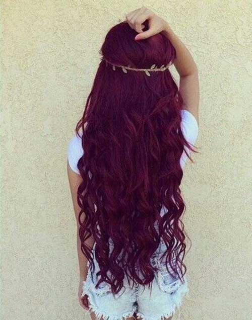Hair Red Color-13