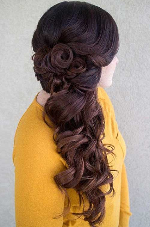 Cute Long Curly Hairstyles-15