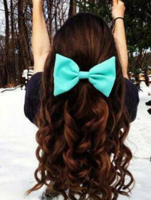 Cute Long Curly Hairstyles-16