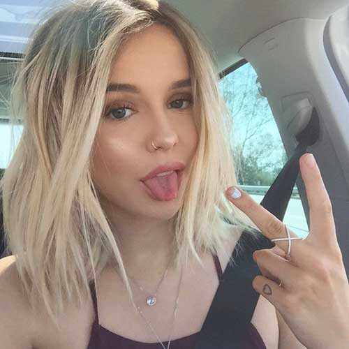 40 Good Short Blonde Hair Hairstyles And Haircuts Lovely