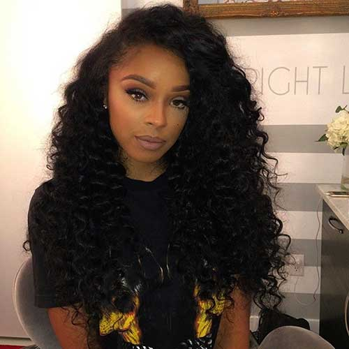 Pretty Black Girls with Long Hair-17