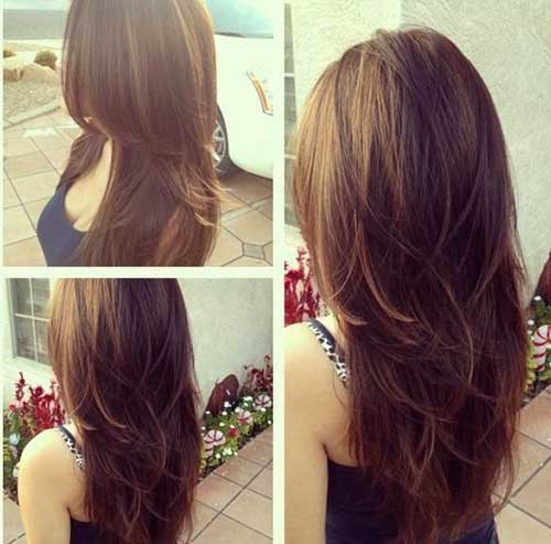 Cute Summer Hairstyles for Long Hair-17