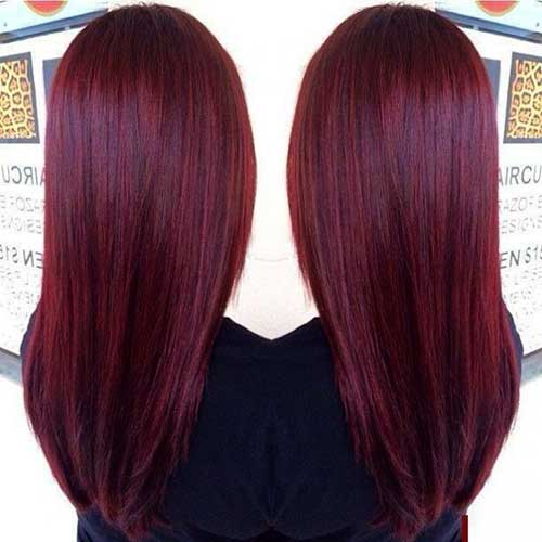 Hair Red Color-17