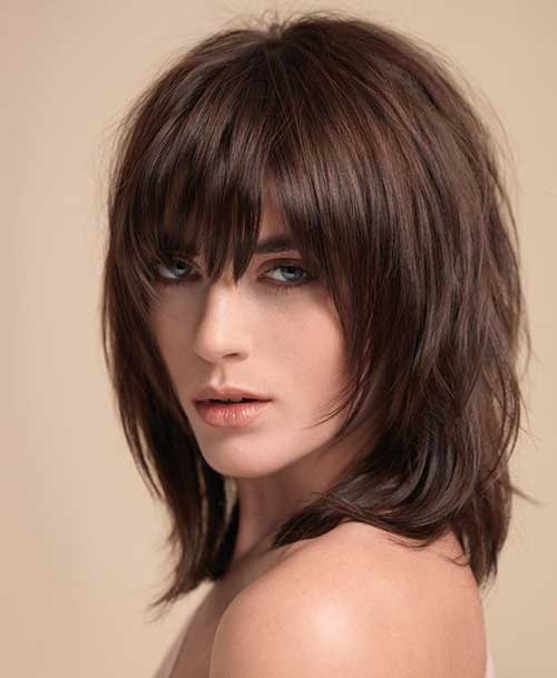Hairstyles with Bangs 2015-17