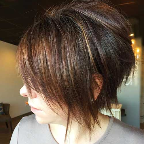 2017 Short Haircuts for Girls - 18