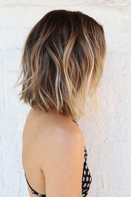 Short Blonde Hair 2017 - 18