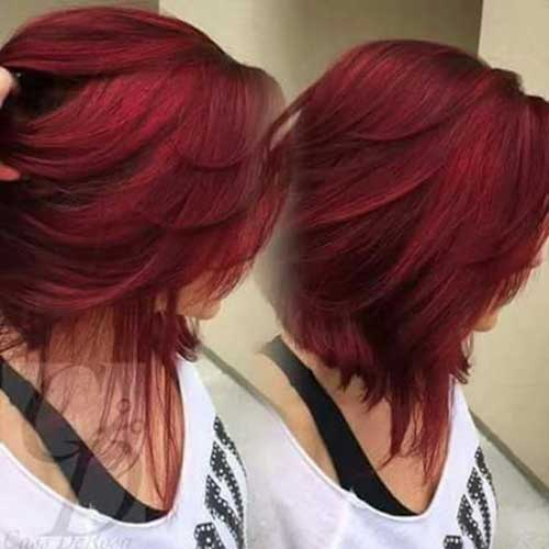 Hair Red Color-18