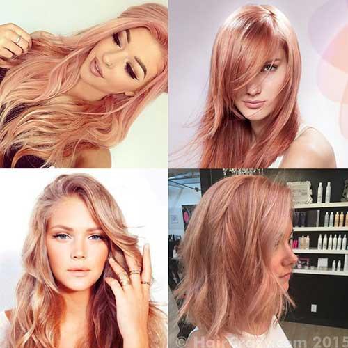 Pink Blonde Hair Color-18