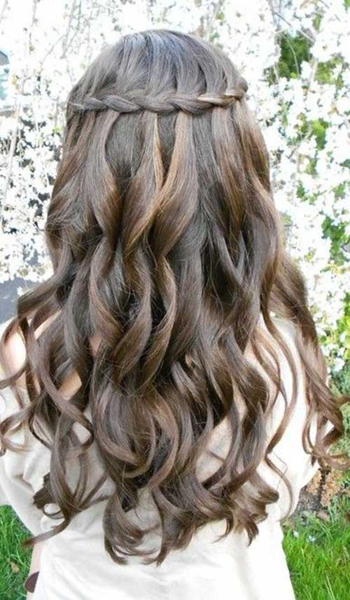 Cute Long Curly Hairstyles-19