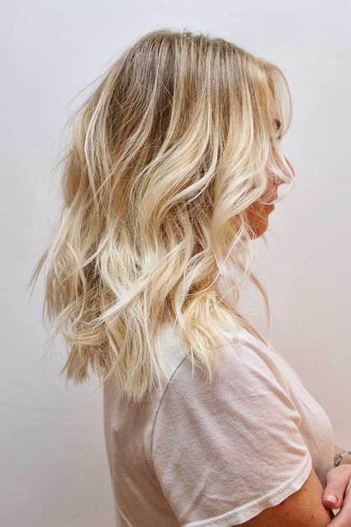 Medium Long Length Hairstyles-19