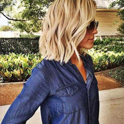 Short Blonde Hair 2017