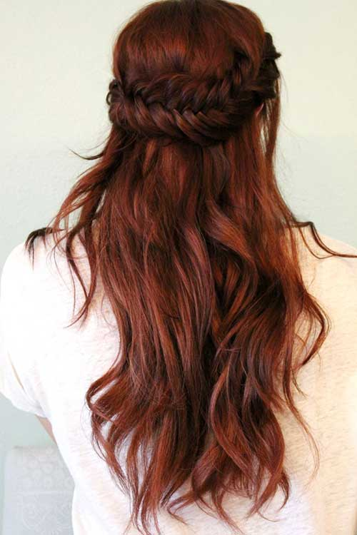 Hair Red Color-21