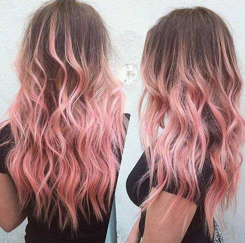 Pink Blonde Hair Color-21