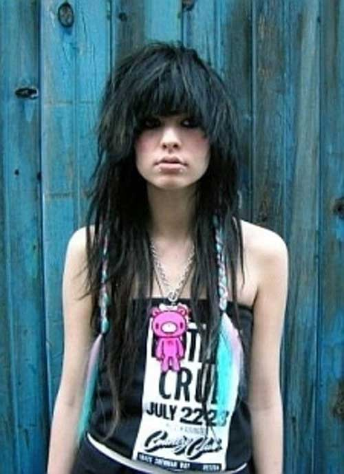 Funky Haircuts for Long Hair-22