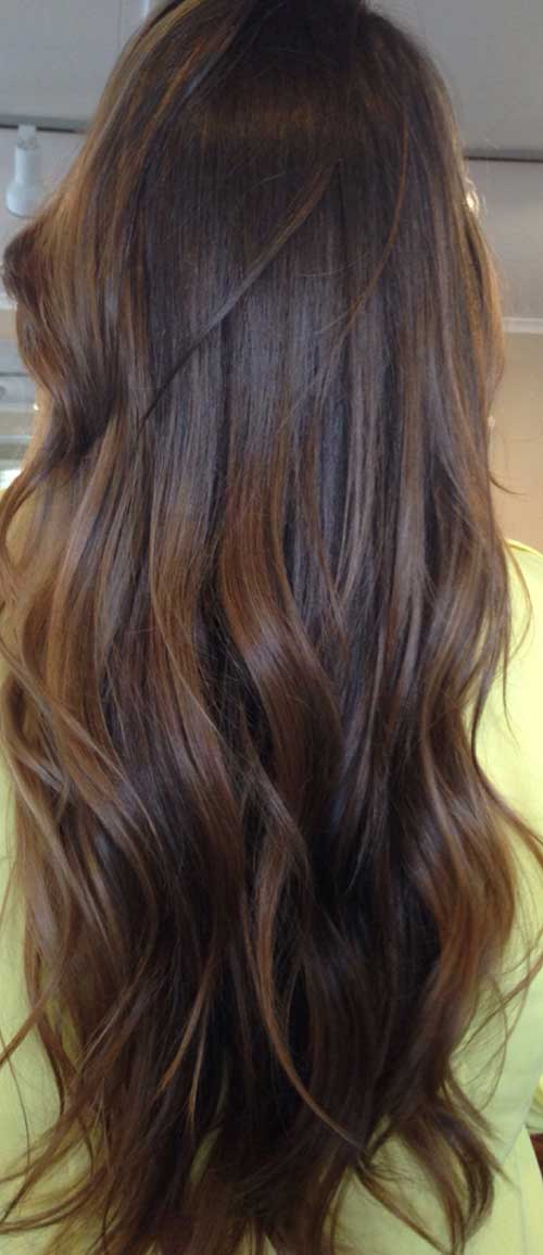Long Dark Brown Hairstyles-22