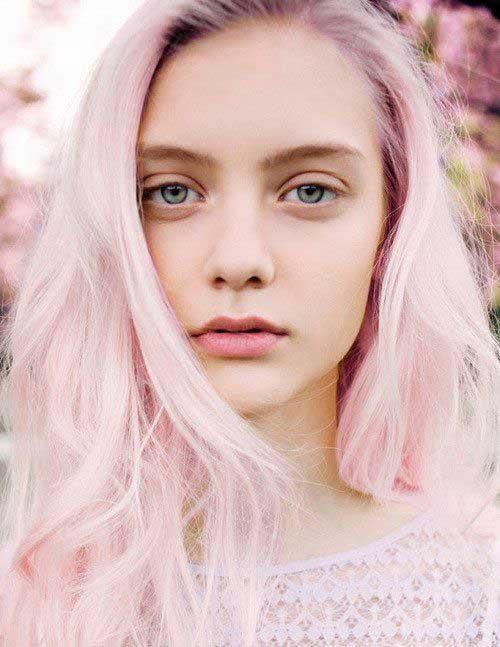 Pink Blonde Hair Color-22