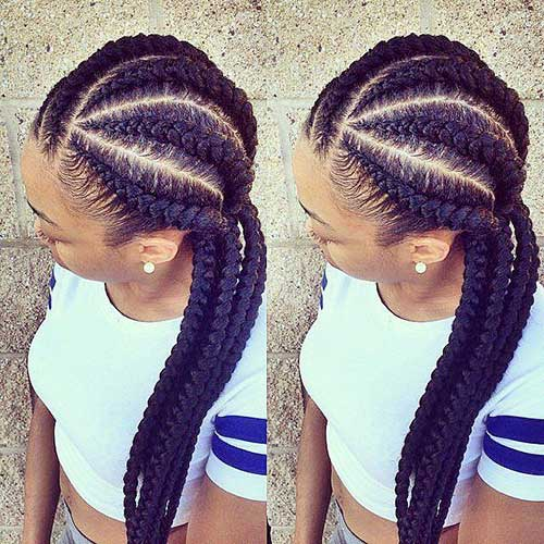 Afro Hairstyles with Braids-23