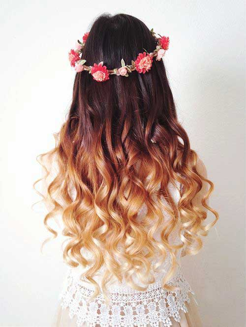 Cute Long Curly Hairstyles-24
