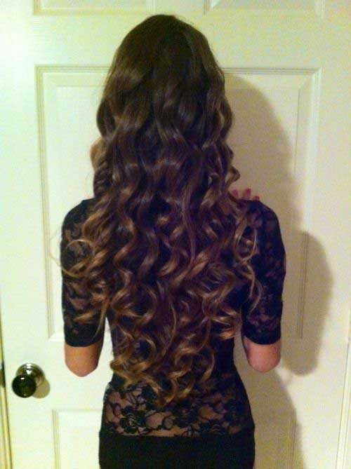 Cute Long Curly Hairstyles-25