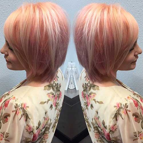 Pink Blonde Hair Color-30