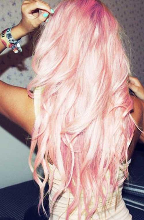 Pink Blonde Hair Color-32