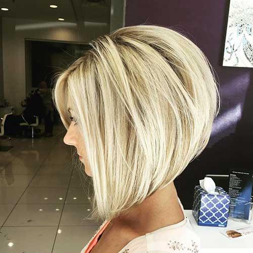 Short Hair 2016 Blonde