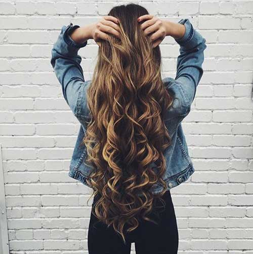 Cute Long Curly Hairstyles-6