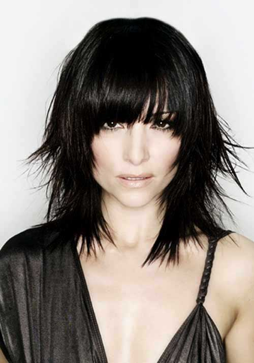 Hairstyles with Bangs 2015-6