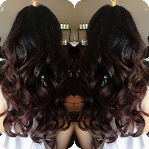 Long Dark Brown Hairstyles-6