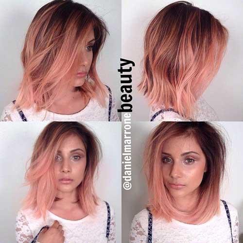 Pink Blonde Hair Color-6