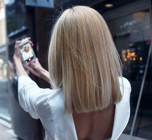 Short Blonde Hair 2017 - 7