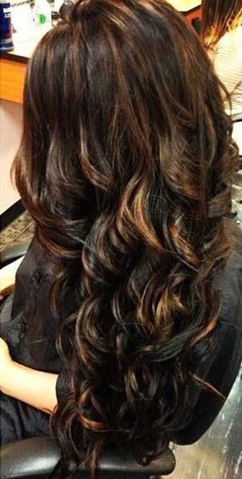 Long Dark Brown Hairstyles-8