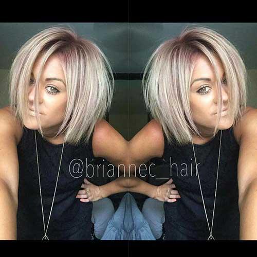 Short Blonde Hair 2017 - 9