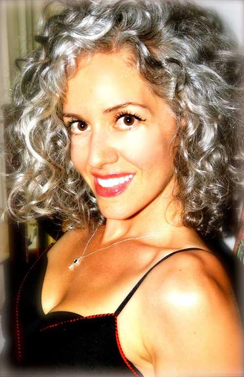 Gray Curly Hair-9