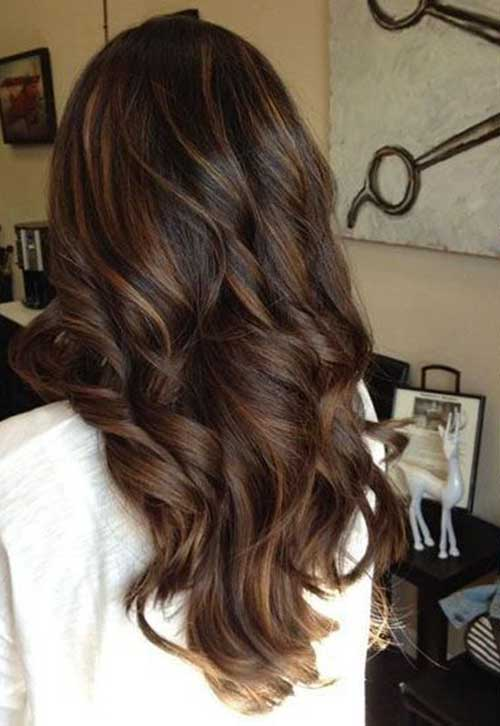 Long Dark Brown Hairstyles-9