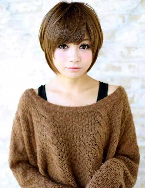 Asian Hairstyles For Round Faces Amp Haircuts 2016 2017