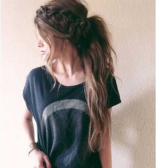 Very Pretty Braided Hairstyles for Ladies