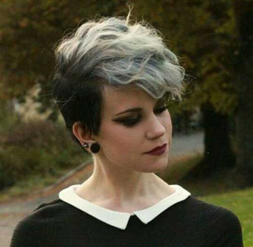 Curly Gray Hairstyles